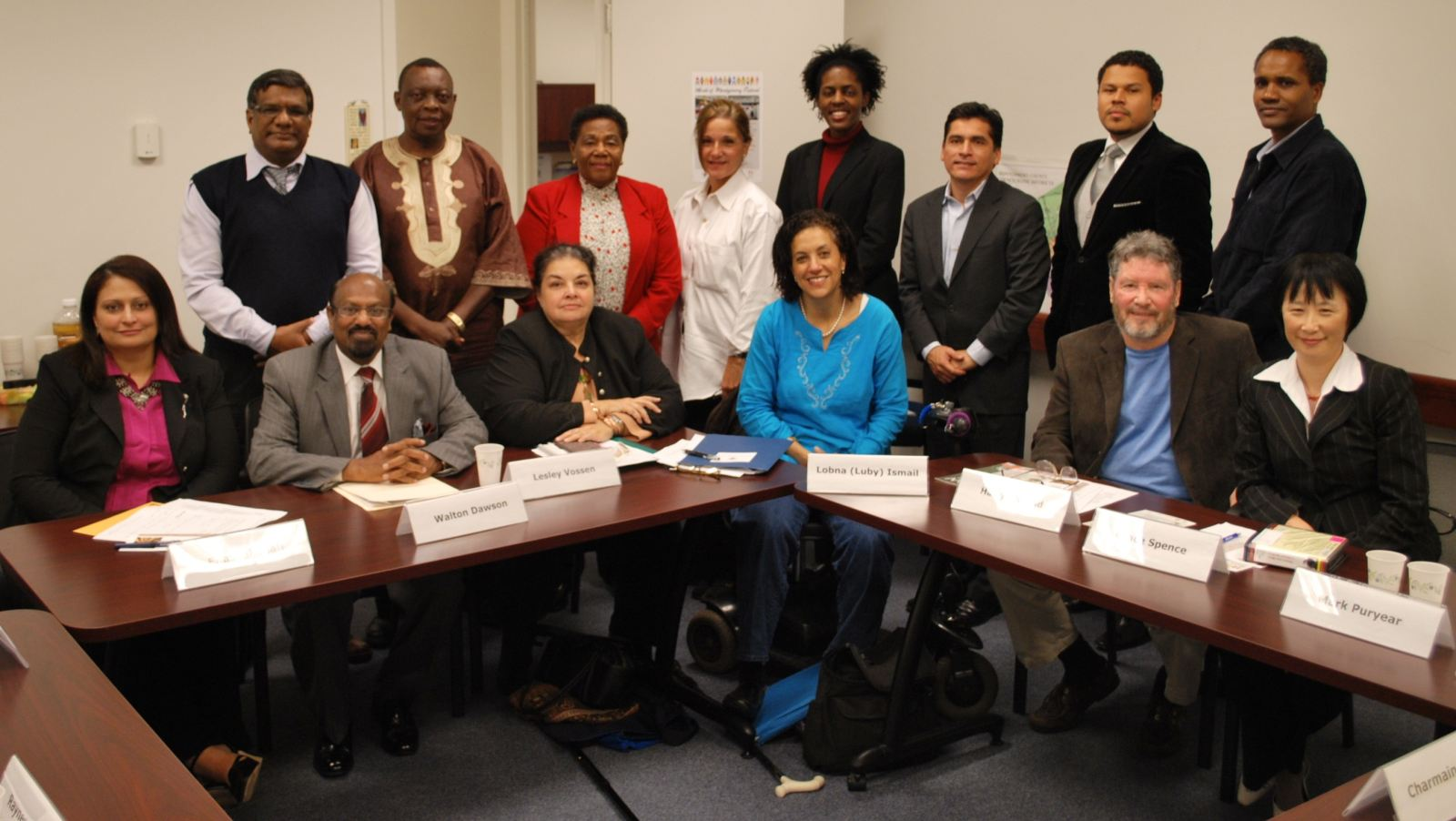 Members of the Committee for Ethnic Affairs