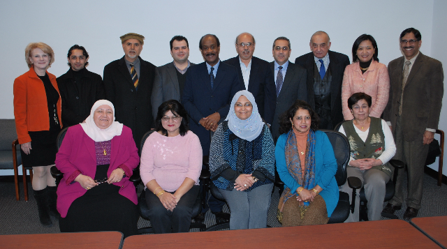 middle eastern advisory group members