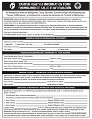 Health and Information Form image