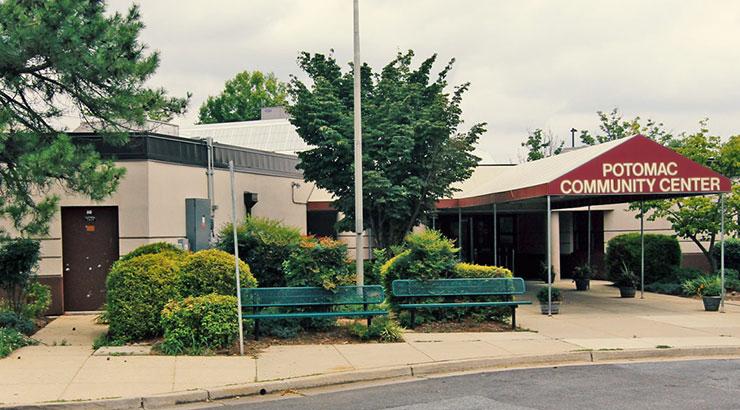 Entrance Potomac Community Recreation Center