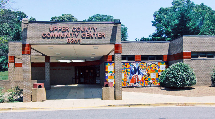 Entrance - Upper County Community Recreation Center