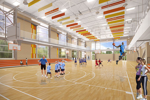 building rendering gym