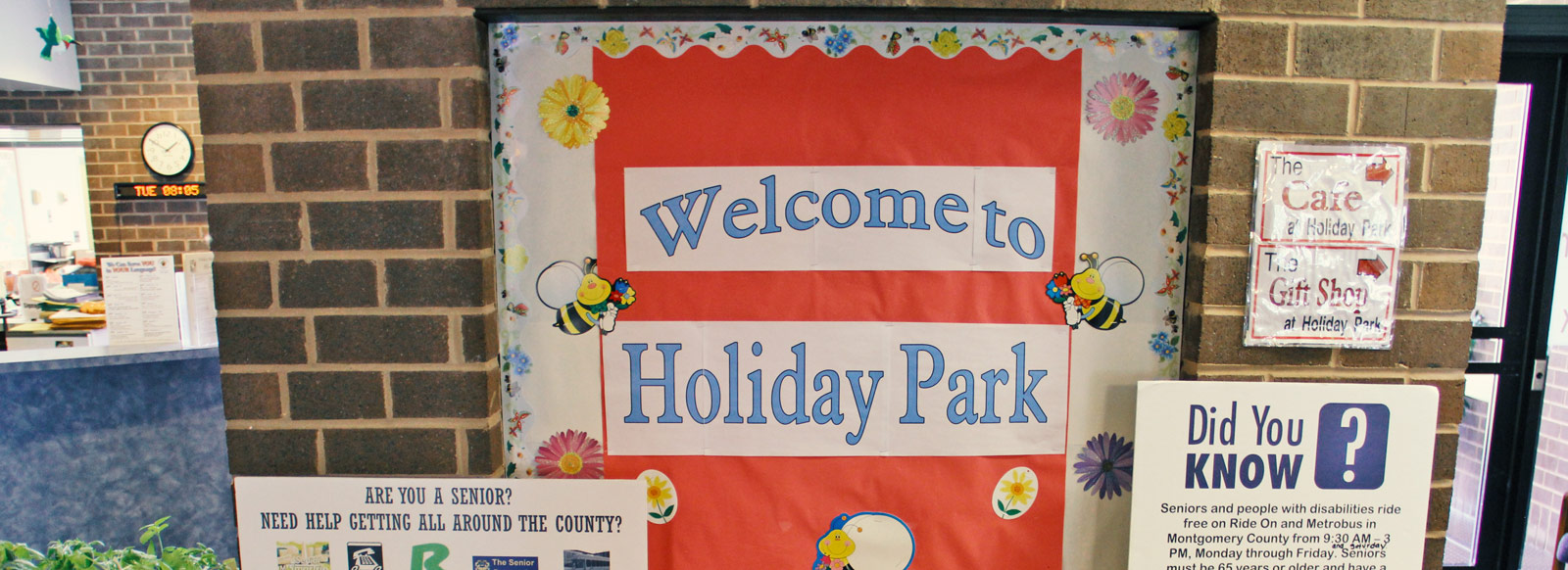 Holiday park senior center