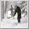 County safesidewalks photo of person shoveling snow.