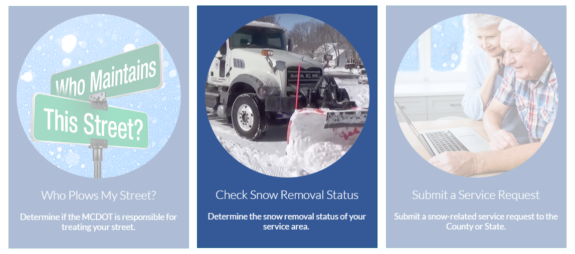 Check Snow Removal Status