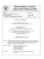 Image: Executive Regulation 1-15: Residential and Commercial Recycling