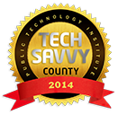 Public Technology Institute Tech Savvy County 2014 award