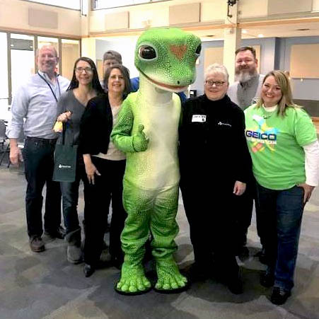 GEICO group photo