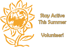 Stay Active This Summer - Volunteer Image