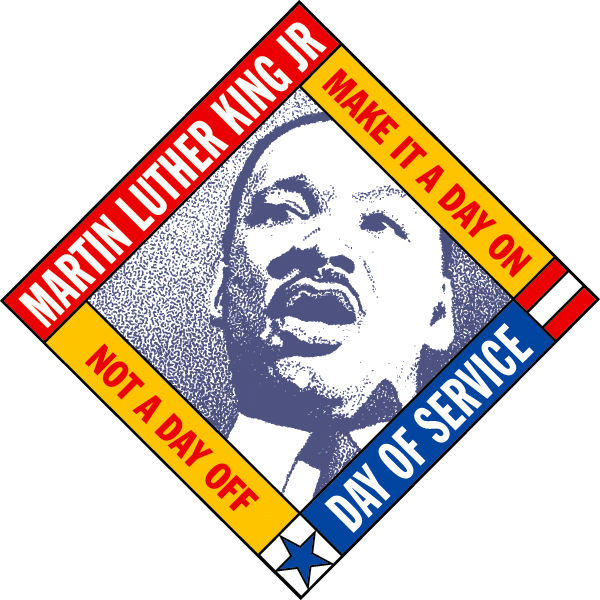Martin Luther King, Jr. Day of Service logo