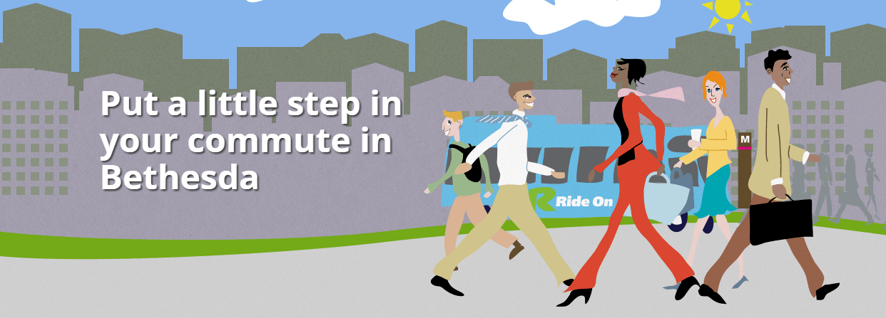 Put a little step in your commute in Bethesda
