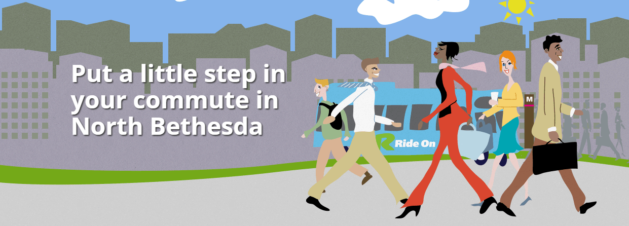 Put a little step in your commute in North Bethesda