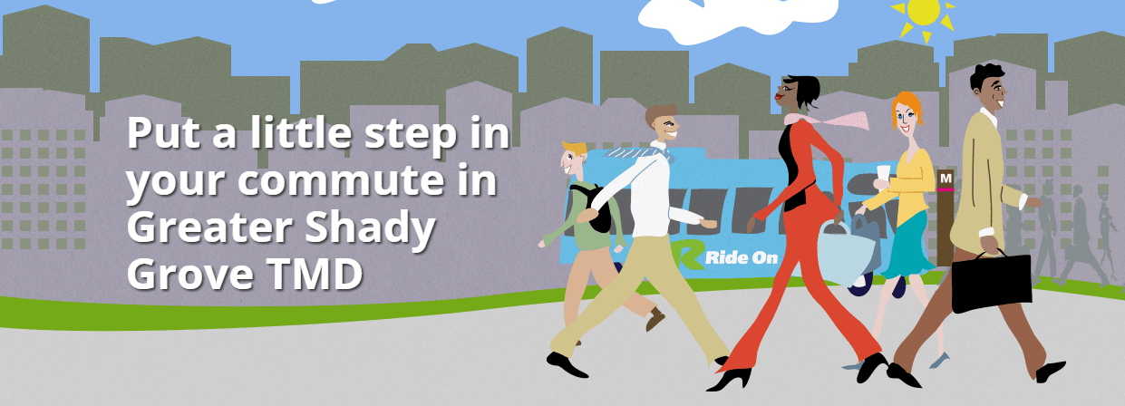Put a little step in your commute in Shady Grove