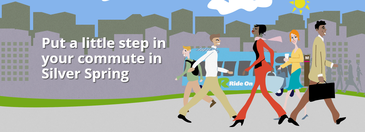 Put a little step in your commute in Silver Spring
